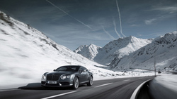 скорость, природа, дорога, машина, 2012 bentley continental gt v8
