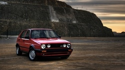 vw, classic, retro, Auto, wallpapers auto, volkswagen golf, cars, gti, обои авто ...