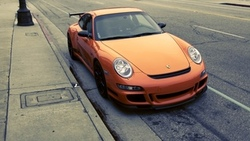 rs, cars, porshe, porshe gt3 rs, сity, Auto, gt3, фото, остановка, парковка