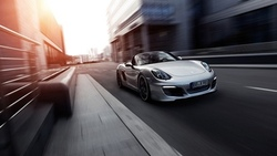 2013, Motion, TechArt, 2, Porsche Boxster, Движение