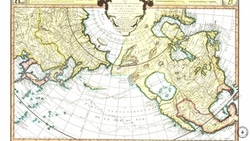 old, antique, map, ocean, historic, pacific, america, russia, maps