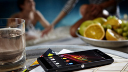 Sony, xperia, mobile, table, zr