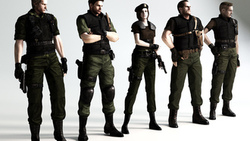 art, Resident evil, biohazard, albert wesker, chris redfield, fan, обитель зла ...