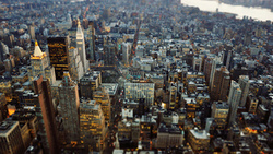 сша, нью йорк, tilt shift, new york city, Город, нью-йорк, манхэттен