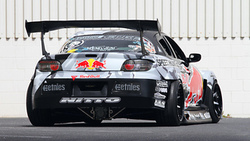 Mazda, red-bull racing, rims, rx-8, drift, spoiler, widebody, sportcar, tuning, team, competition ...