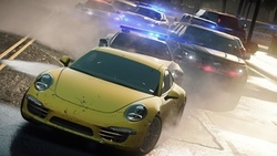 копы, гонка, Need for speed most wanted 2012, porsche 911, город, погоня