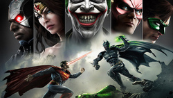 joker, wonder women, green lantern, superman, injustice gods among us, batman, flash, улыбка ...
