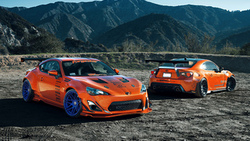 mountain, fr-s, spoilers, wheels, widebody, rims, style, orange, tuning, toyota, 86, scion ...