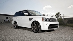 wheels, beautiful, vossen, desktop, automobile, rover, sport, white, land, wallpapers, cars, tuning ...