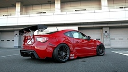 car, wallpapers, tuning, scion fr-s, sportcar, red, обоя, автомобиль, rocket bunny ...
