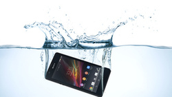 water, sony, mobile, xperia, zr