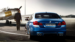 свет, машина, car, самолёт, man, человек, plane, light, bmw m5 2011, 1920x1200 ...