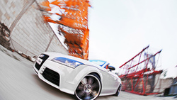 tuning, car, audi tt rs roadster, машина