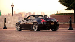nissan, 370z, кабриолет, тачки, авто обои, auto wallpapers, ниссан, cars