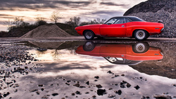 american muscle cars, challenger, dodge