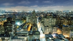 огни, nyc, new york city, нью-йорк, washington square park, west village, night, ночь ...