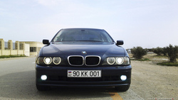 angel eyes, bmw, xenon, 2002, e39, 525i, ксенон