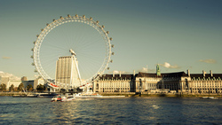 river thames, uk, англия, лондон, london eye, england, london