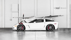 white, z06, ангар, шевроле, corvette, 360 three sixty forged, chevrolet, корвет ...