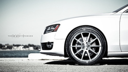 us-spec, 360 three sixty forged, 3.2, ауди, coupe, белый, audi, a5, white
