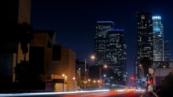 la, california, калифорния, ночь, usa, los angeles, огни, night