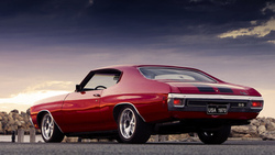 muscle car, шевроле, chevrolet chevelle ss
