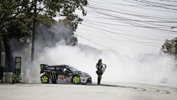 мотоцикл, занос, fiesta, car, ford, машина, кен блок, ken block, drift