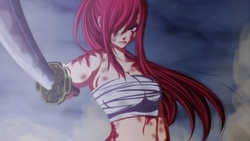 fairy tail, ricardo9tomate, сказка о хвосте феи, арт, аниме, erza scarlet