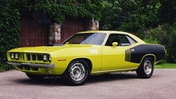 1971, плимут, muscle car, куда, plymouth, чёрно, hemi, cuda, yellow black