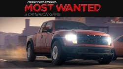 need for speed most wanted 2, ford, f-150 svt raptor, внедорожник, еа, гонки ...