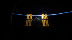 international, space station, мкс, space, iss, earth,  ship, backlit, satellite, back-lit, orbit ...