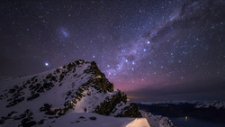 adventure, astro, astrophotography, milky way, snow, sky