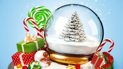 snow, toy, new year, ornaments, train, gifts, merry christmas, , decoration, sweets, christmas tree ...