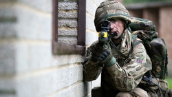 reservists, british army, training