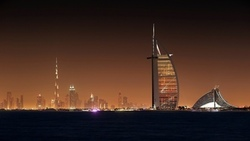 обоя, дубай, ночь, light, scycraps, city, dubai, город, night, wallpapers