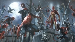 captain, spider, miles, morales, spider, ham, spider, verse, may, parker, spider, man, 2099, spider, girl, spider, man, 2211, future, foundation, iron, spider, ghost, spider, ultimate, spider, woman, doppelganger, black, symbiote, prince, arachne, scarlet ...