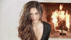 pretty, smile, look, eye, long, hair, beautifull, perfect, fire