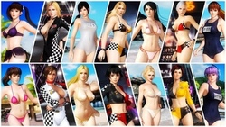 dead or alive 5, doa5, девушки