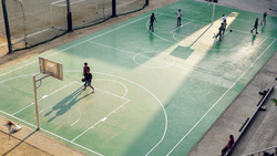 баскетбол, спорт, green city, art, nba, sports, iphone, ipad, retina