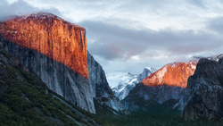 el capitan, mac os, mountain, горы, альпы, мак ос