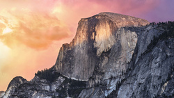 yosemite, mac os, mountain, горы, альпы, мак ос