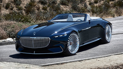 mercedes vision, maybach 6, машины 2018, мерседес, car wallpaper, концепт кар, mercedes, мерседес концепт кар ...