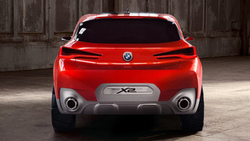 bmw, бмв, кроссовер, bmw x2, concept, car wallpaper, машины 2018, концепт кар, задняя часть ...