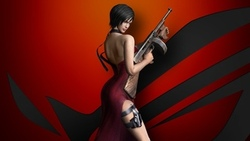 chinese, iohazard, da ong, pose, sus, thigh, asian, iohazard 4, weapon, gun, spy, brunette, oriental, og, esiden vil, dress, esident vil 4, waifu, game ...