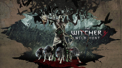 the witcher 3 wild hunt, арт, волки