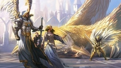 sword fantasy game armor, weapon wings angel dragon, griffin creature knight, eroes of ight and agic ...