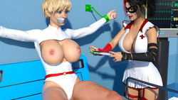 3d girls, big boobs, nurse