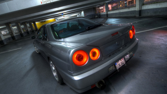 Nissan, skyline, auto, wallpers