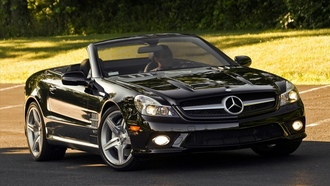 мерседес, тачки, widescreen walls, cars pictures, auto wallpapers, road, обои с машинами, мерин, trees, машины, дорога, Mercedes sl