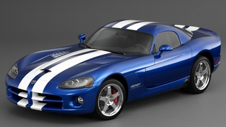 синий, viper srt10 coupe, серый, Dodge